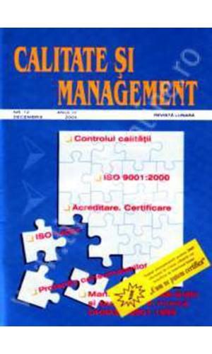 Calitate si Management
