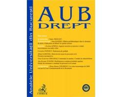 Analele Universitatii Bucuresti - Seria Drept